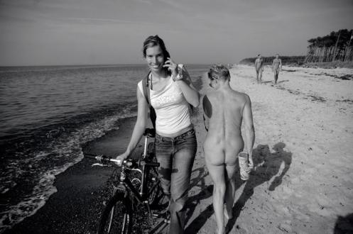 Am Strand von Usedom