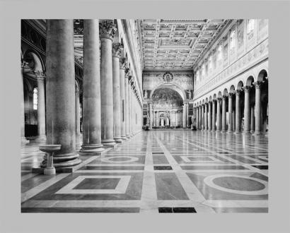"""Piranesi   © Basilico """"Innenansicht St. Paolo fuori le Mura"""""""